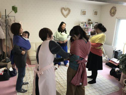 10/27「心地よい抱っことおんぶの会」受付中